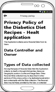 Diabetics Diet Recipes - Healthy Life screenshot 1