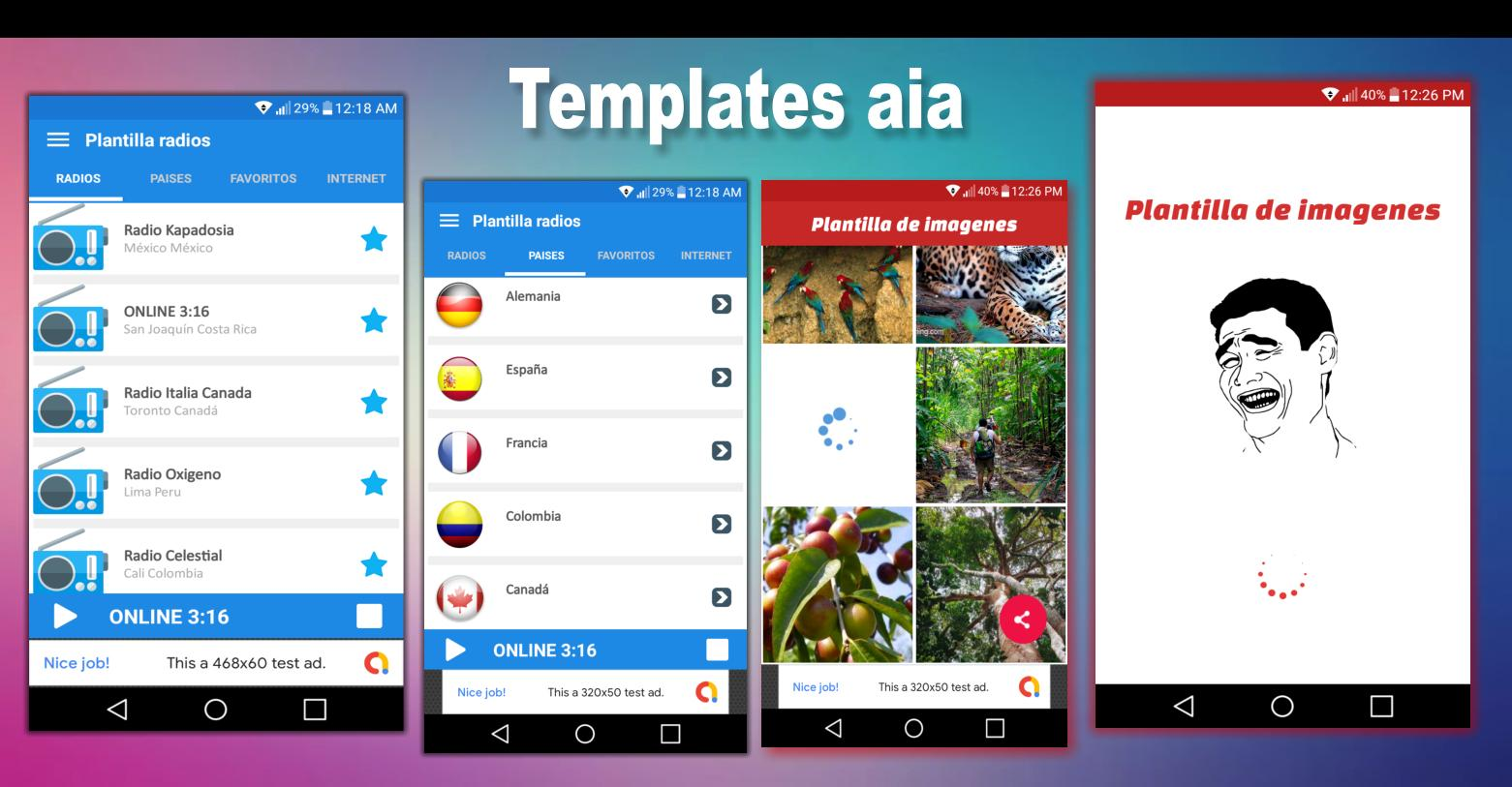 App Inventor aia - Create your app with templates for