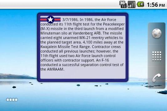 Air Force Military History screenshot 1