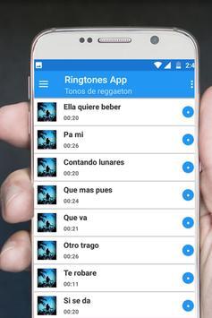 Reggaeton songs screenshot 2