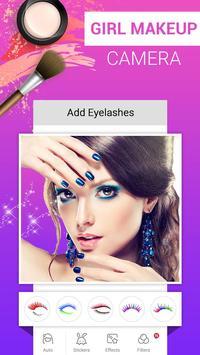 Girl Makeup Camera - Beauty Photo Editor 2019 poster