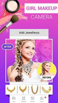 Girl Makeup Camera - Beauty Photo Editor 2019 screenshot 4