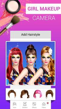 Girl Makeup Camera - Beauty Photo Editor 2019 screenshot 5