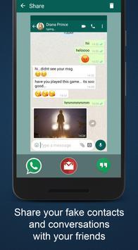 6 Schermata WhatsMock - Fake Chat Maker