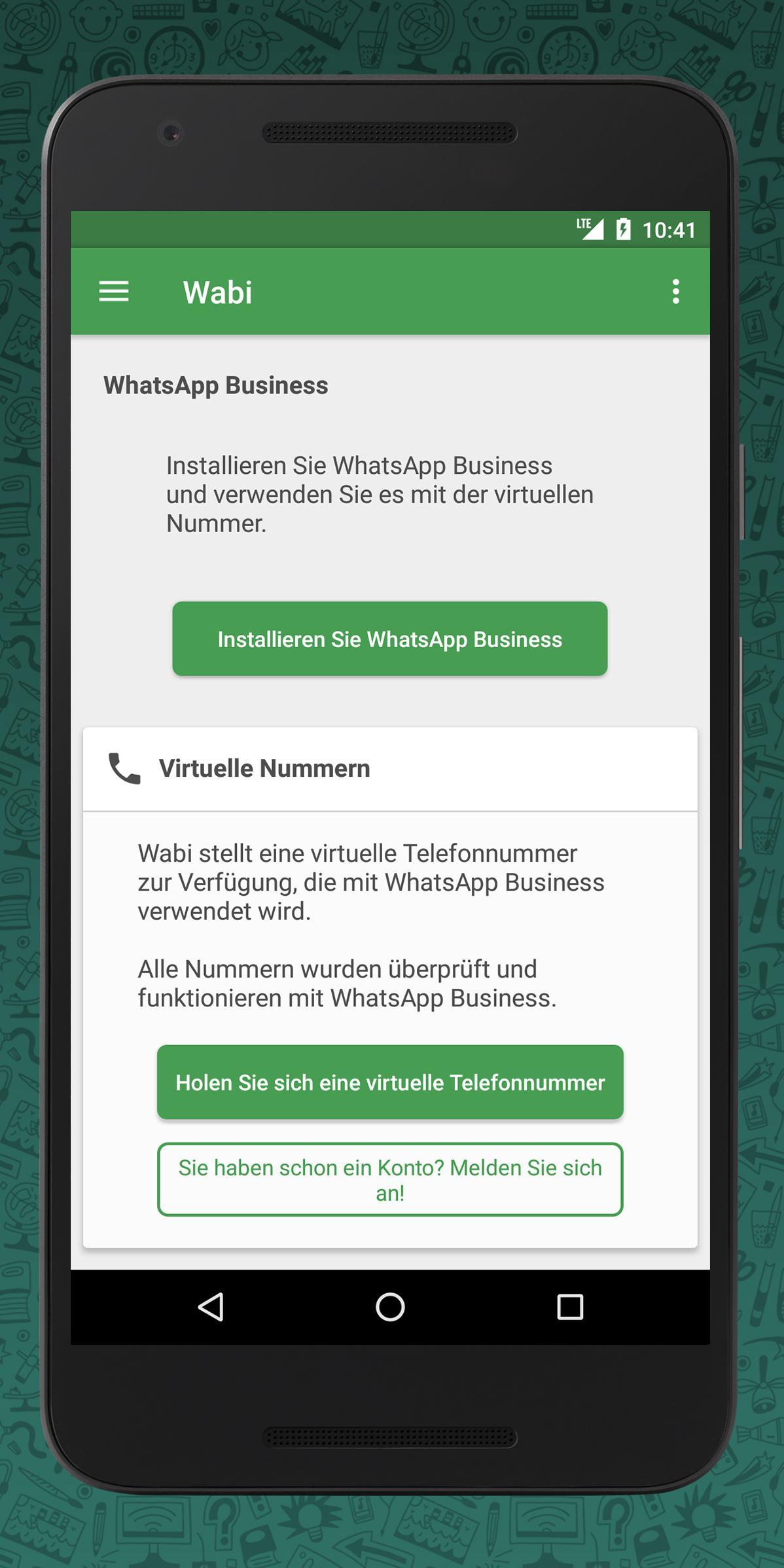 Virtuelle nummer für whatsapp