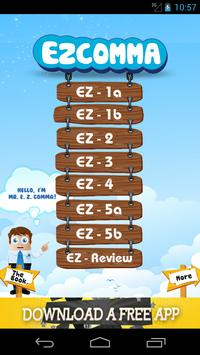 EZCOMMA poster