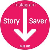 Instagram story saver icon