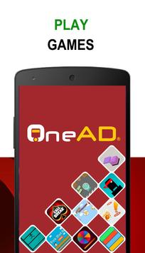 OneAD poster