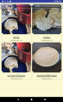 Biscuit and Crackers Recipes screenshot 11