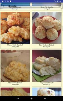 Biscuit and Crackers Recipes screenshot 12
