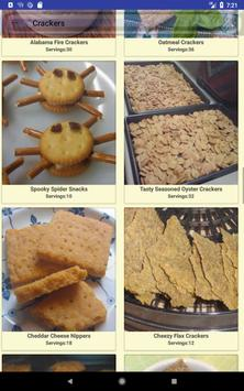 Biscuit and Crackers Recipes screenshot 8