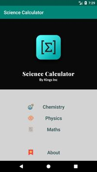 Science Calculator poster