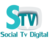 Social tv digital icon