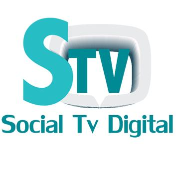 Social tv digital poster