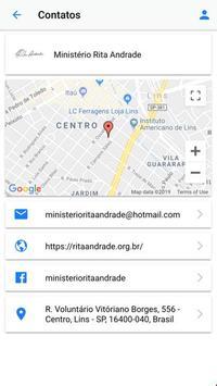 Ministério Rita Andrade screenshot 1