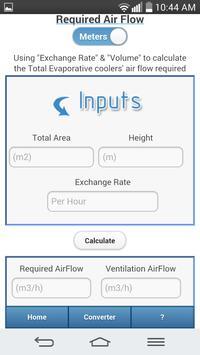 Evaporative Cooling Calculator screenshot 6