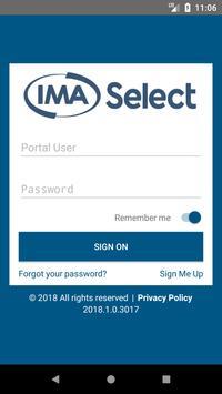 IMA Select poster