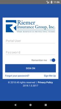 Riemer Insurance Group Online poster
