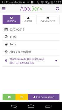 Appliserv Mobile screenshot 1