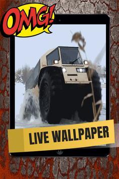 Military Vehicle Live Wallpaper screenshot 2