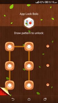 App Lock Bolo : Theme Wooden screenshot 3