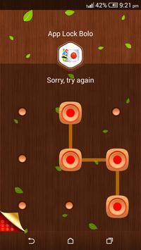 App Lock Bolo : Theme Wooden screenshot 5