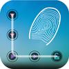 Icona all app lock - schermata di blocco del modello di