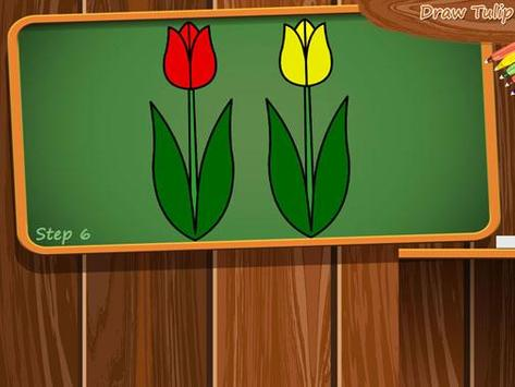 How to Draw Flowers screenshot 8
