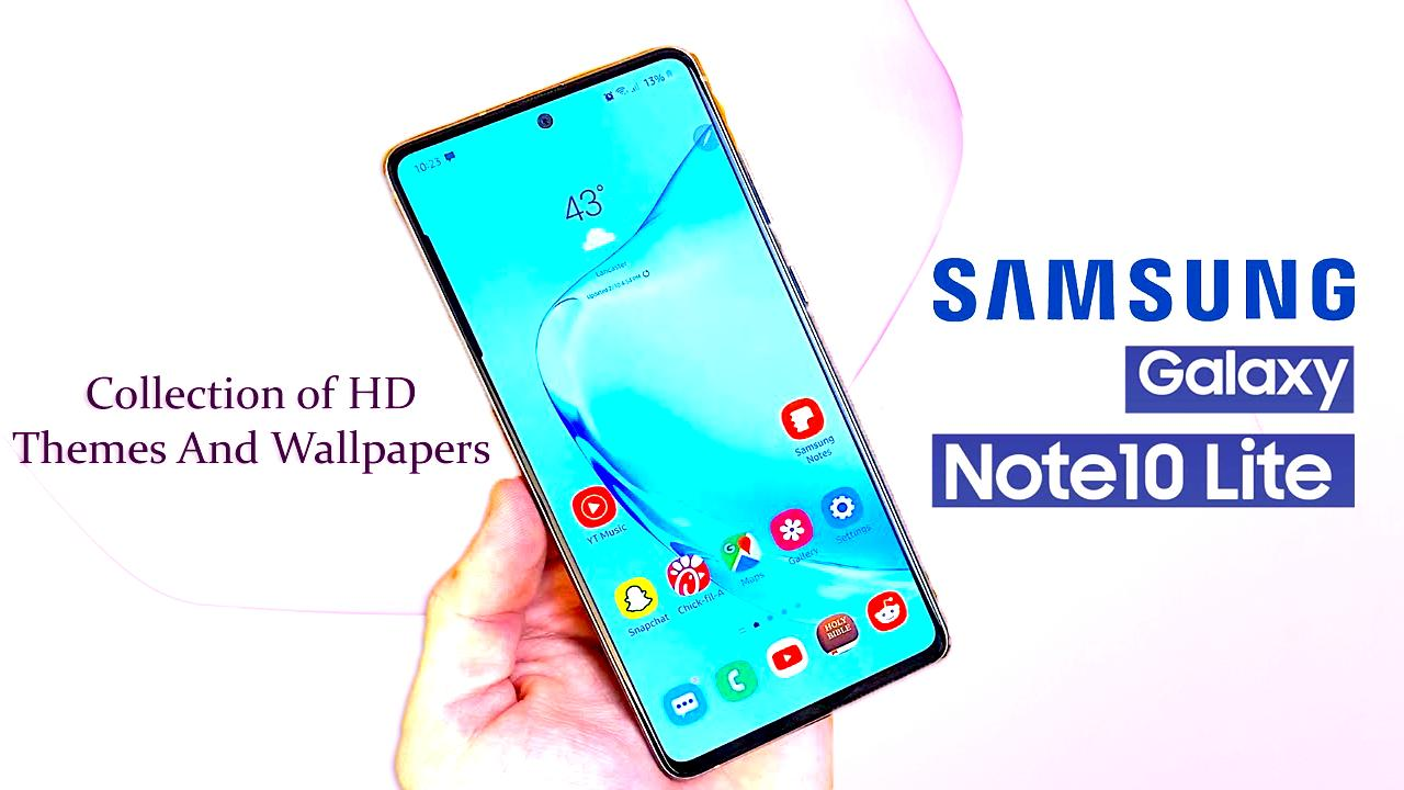 Theme For Samsung Galaxy Note 10 Lite For Android Apk Download