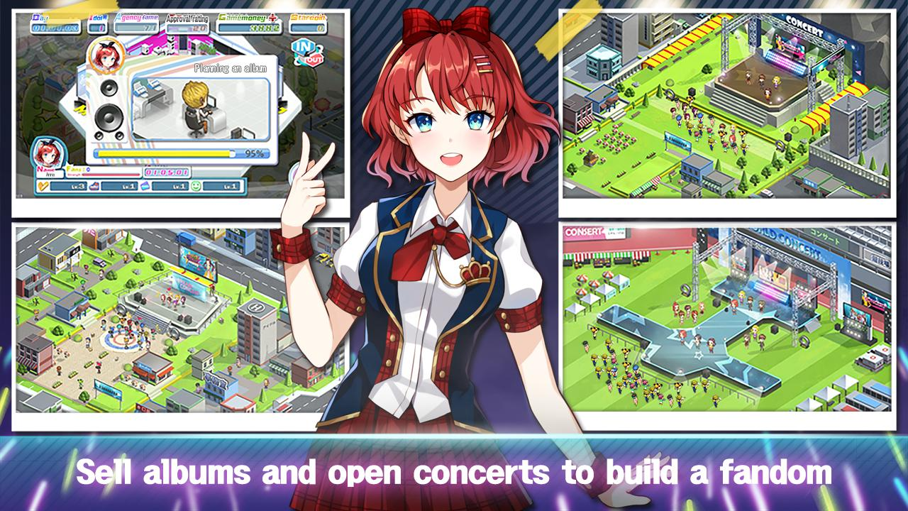 Girl Group Inc Love Kpop Idol Offline Game For Android Apk Download