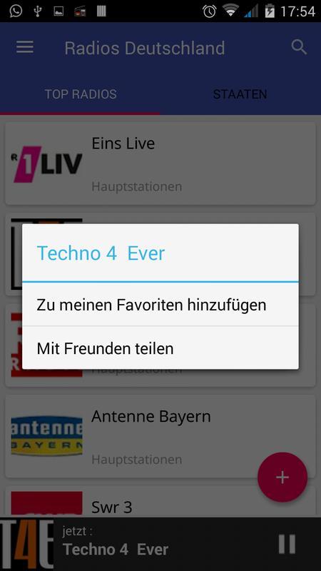 eins live radio germany