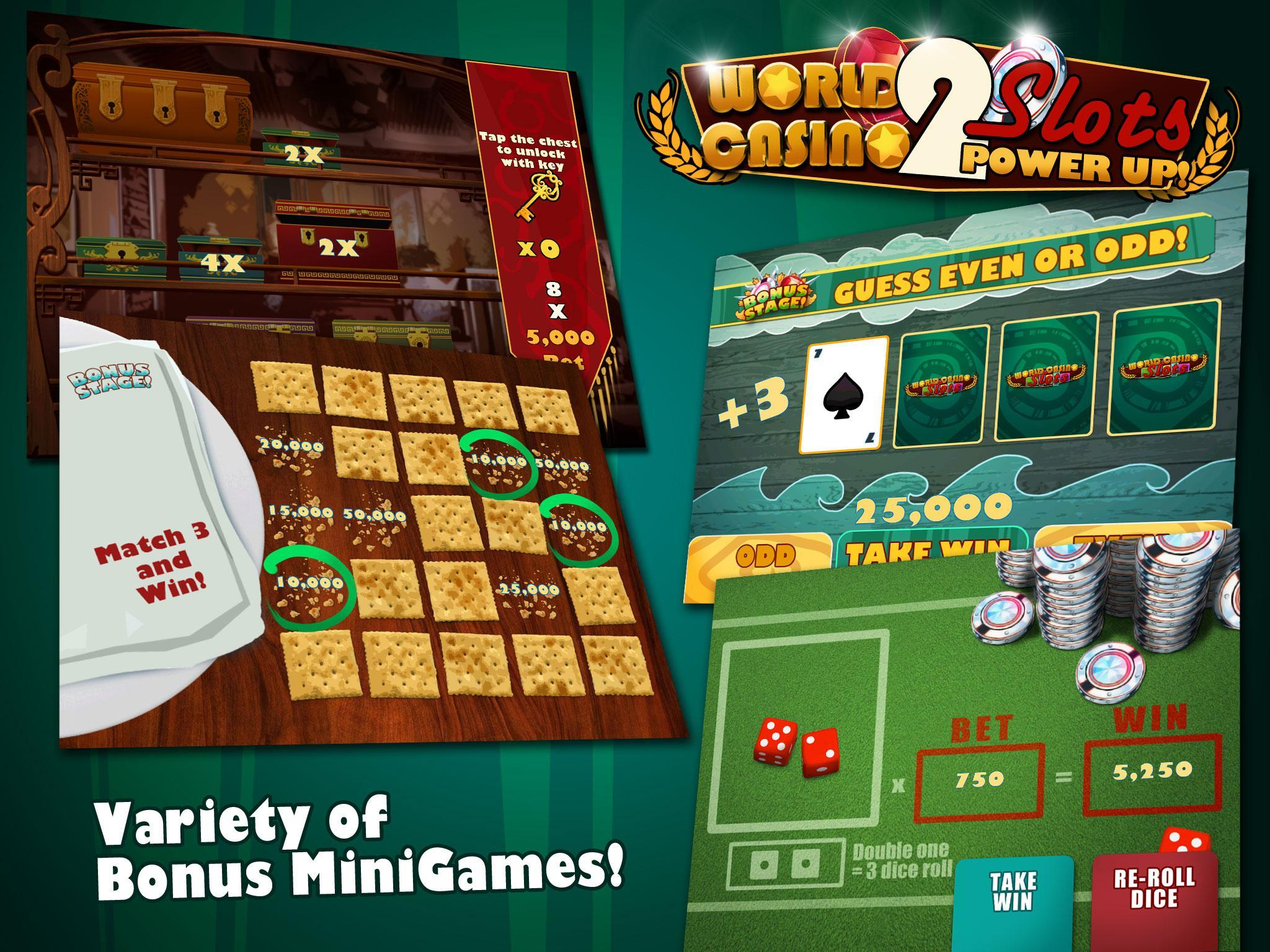Slots Power Up 2 World Casino poster