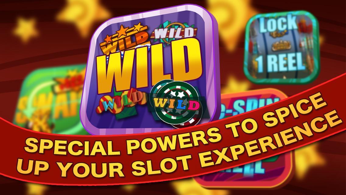 Slots Power Up - World Casino poster