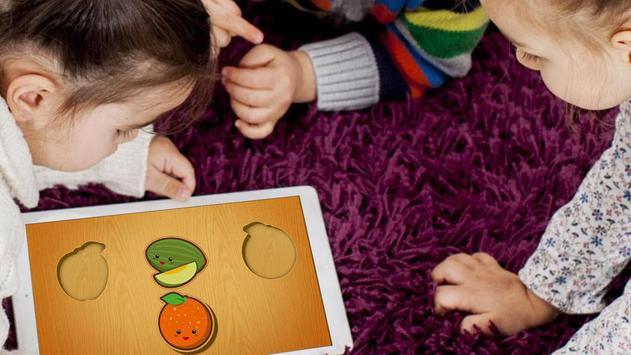 Baby Wooden Blocks Puzzle screenshot 2