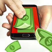 Money cash clicker icon