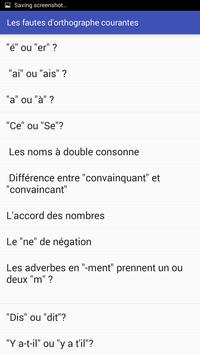 Apprendre et améliorez votre orthographe screenshot 1