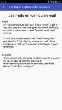 Apprendre et améliorez votre orthographe screenshot 2