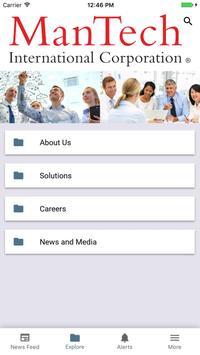 ManTech Now App screenshot 1