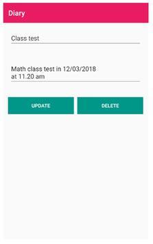 Diary - daily notes screenshot 2