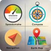 GPS Tools : Live Address, Maps Direction, Navigate icon