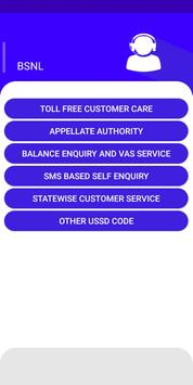 Tollfree and Customer care helpline number Telecom screenshot 2