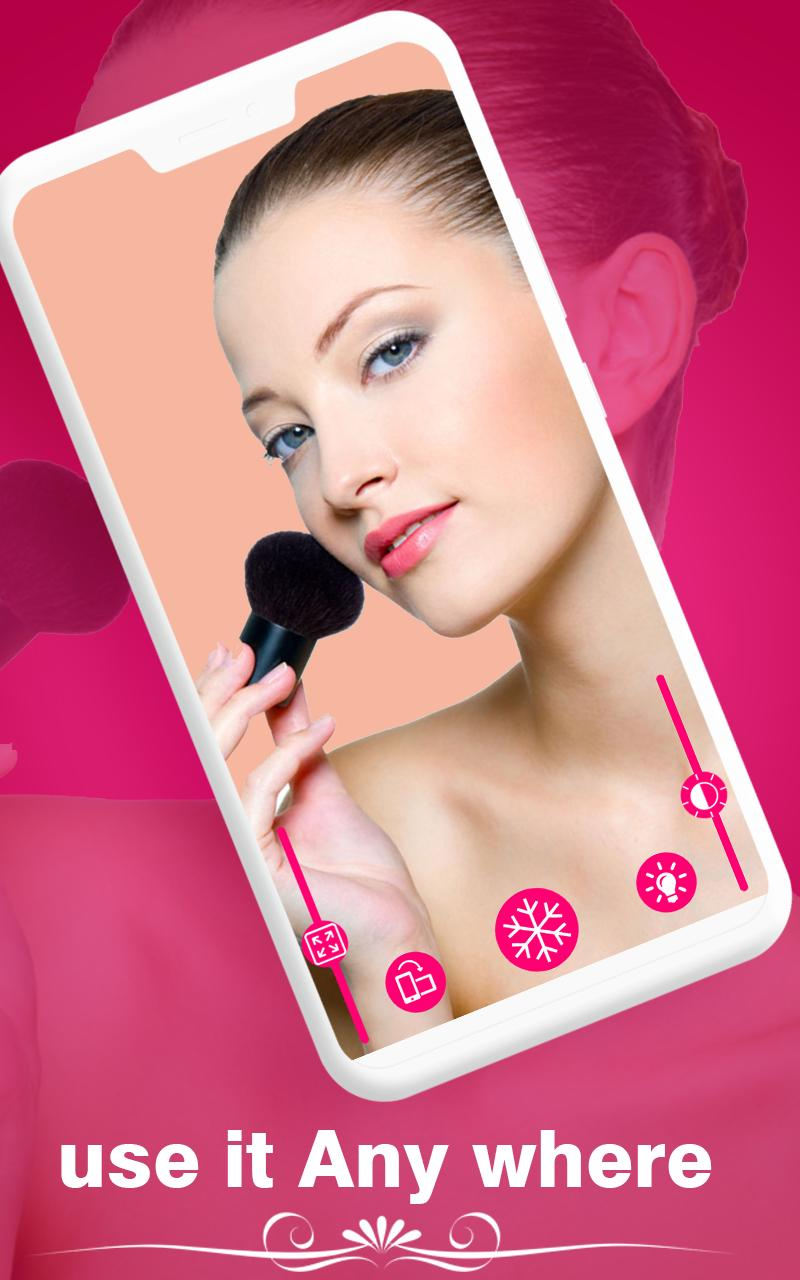 Makeup Mirror Free App For Android