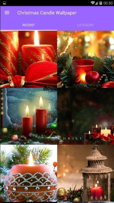 Christmas Candle Wallpaper For Android Apk Download