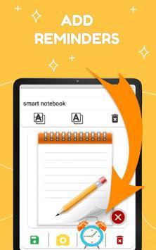 Smart Notepad Notes - Quick Note, Shopping List تصوير الشاشة 18