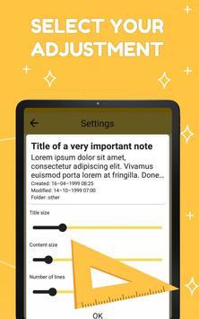 Smart Notepad Notes - Quick Note, Shopping List تصوير الشاشة 23