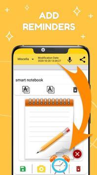 Smart Notepad Notes - Quick Note, Shopping List تصوير الشاشة 2