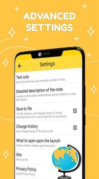 Smart Notepad Notes - Quick Note, Shopping List تصوير الشاشة 6