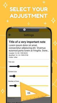 Smart Notepad Notes - Quick Note, Shopping List تصوير الشاشة 7