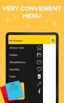 Smart Notepad Notes - Quick Note, Shopping List تصوير الشاشة 8