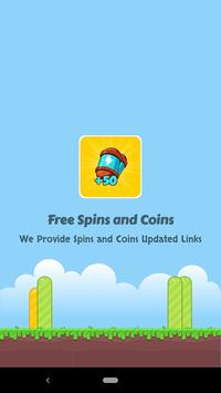 Free Spins and Coins poster